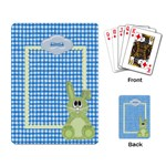 Eggzactly Spring Playing Cards 1 - Playing Cards Single Design