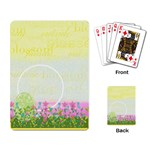 Eggzactly Spring Playing Cards 2 - Playing Cards Single Design