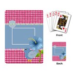 Eggzactly Spring Playing Cards 3 - Playing Cards Single Design
