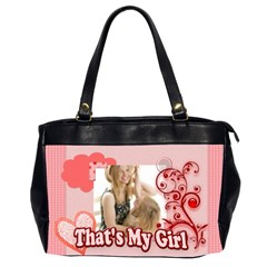 That,s My Girl By Joely   Oversize Office Handbag (2 Sides)   30yrm1njetgg   Www Artscow Com Front