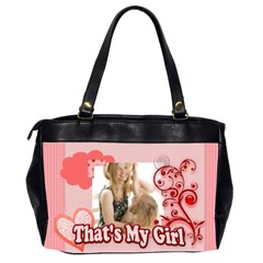 That,s My Girl By Joely   Oversize Office Handbag (2 Sides)   30yrm1njetgg   Www Artscow Com Back
