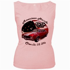 Chevy Chevelle SS 396 Women s Pink Tank Top by BlueRidgeArtisans