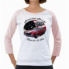 Chevy Chevelle SS 396 Girly Raglan by BlueRidgeArtisans