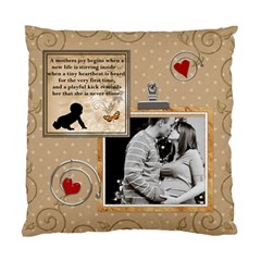 A Mothers Joy 2 Sided Cushion Case By Lil    Standard Cushion Case (two Sides)   Hgcyl1rsmwdy   Www Artscow Com Front