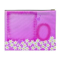 Spring Cosmetic Bag Xl By Galya   Cosmetic Bag (xl)   Tralzuvninkd   Www Artscow Com Back