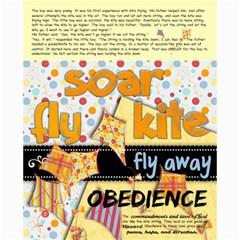 Kite Final By Gayle Blackham   Collage 8  X 10    O7g356638wip   Www Artscow Com 10 x8 Print - 3