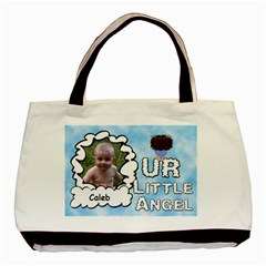 Our Little Angel Boy Two Sided Bag By Chere s Creations   Basic Tote Bag (two Sides)   Gn2nnn3t7xjh   Www Artscow Com Front