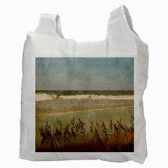 Beach Recycle Bag By Eleanor Norsworthy   Recycle Bag (two Side)   Uuqmco7mmlck   Www Artscow Com Back