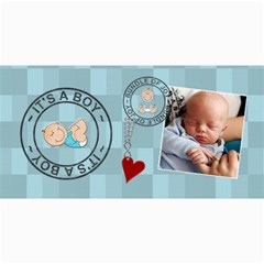 It s A Boy Photo Cards By Lil    4  X 8  Photo Cards   Uynqvnioh29f   Www Artscow Com 8 x4 Photo Card - 3