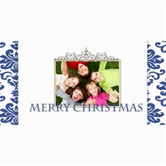 Merry Christmas By Wood Johnson   4  X 8  Photo Cards   8tjm355cn0ez   Www Artscow Com 8 x4 Photo Card - 9