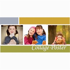 Collage Poster By Wood Johnson   4  X 8  Photo Cards   V2hglq56c7bq   Www Artscow Com 8 x4 Photo Card - 1