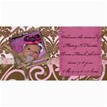 Maceys announcement - 4  x 8  Photo Cards