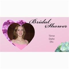 Bridal Shower Photo Card By Deborah   4  X 8  Photo Cards   Bac5drb9pi0m   Www Artscow Com 8 x4 Photo Card - 3