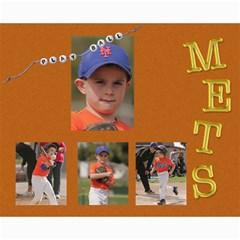 Mets Collage By Kaycee Ruiz   Collage 8  X 10    Abxnz45p2ww4   Www Artscow Com 10 x8 Print - 1