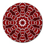 BubStari Circle Art Round Mousepad