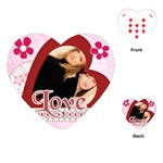 Love card - Playing Cards (Heart)