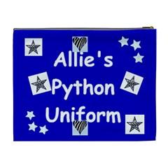 Allie s Python Bag By Stephanie Kyne   Cosmetic Bag (xl)   Nv0lw0yekivp   Www Artscow Com Back
