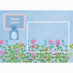 Eggzactly Spring Easter Card 1 By Lisa Minor   5  X 7  Photo Cards   3qt94enooo40   Www Artscow Com 7 x5 Photo Card - 7
