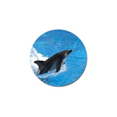 Swimming Dolphin Golf Ball Marker (4 pack) by knknjkknjdd