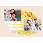 happy day - 5  x 7  Photo Cards