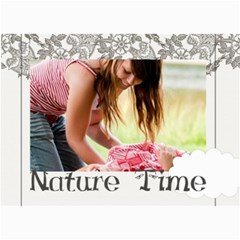 Nature Time By Joely   5  X 7  Photo Cards   Jch1hp39r8cy   Www Artscow Com 7 x5 Photo Card - 7
