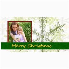 Merry Christmas By Joely   4  X 8  Photo Cards   H2wy3j7hegzi   Www Artscow Com 8 x4 Photo Card - 5