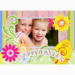 Happy Easter By Joely   5  X 7  Photo Cards   J7ec3yqcihtk   Www Artscow Com 7 x5 Photo Card - 2
