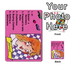Psl Female By Mike Waleke   Multi Purpose Cards (rectangle)   Qd9t6tphaw6o   Www Artscow Com Front 12