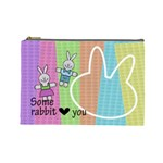Some rabbit love you - Custom Cosmetic Bag (Large)