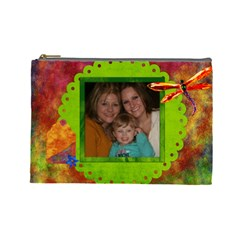 Vonda By Marie Morandini   Cosmetic Bag (large)   08fxjy02vwdi   Www Artscow Com Front