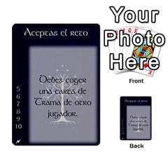 La Compania Del Anillo By Stratosdj   Multi Purpose Cards (rectangle)   8h0i15p7ln1f   Www Artscow Com Front 1