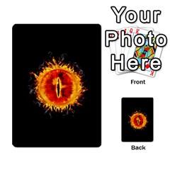 La Compania Del Anillo By Stratosdj   Multi Purpose Cards (rectangle)   8h0i15p7ln1f   Www Artscow Com Front 52