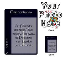 La Compania Del Anillo By Stratosdj   Multi Purpose Cards (rectangle)   8h0i15p7ln1f   Www Artscow Com Front 3