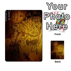 La Compania Del Anillo By Stratosdj   Multi Purpose Cards (rectangle)   8h0i15p7ln1f   Www Artscow Com Back 24