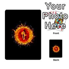 La Compania Del Anillo By Stratosdj   Multi Purpose Cards (rectangle)   8h0i15p7ln1f   Www Artscow Com Front 28