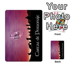 La Compania Del Anillo By Stratosdj   Multi Purpose Cards (rectangle)   8h0i15p7ln1f   Www Artscow Com Back 41