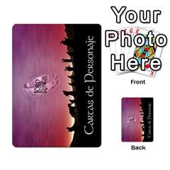 La Compania Del Anillo By Stratosdj   Multi Purpose Cards (rectangle)   8h0i15p7ln1f   Www Artscow Com Back 50