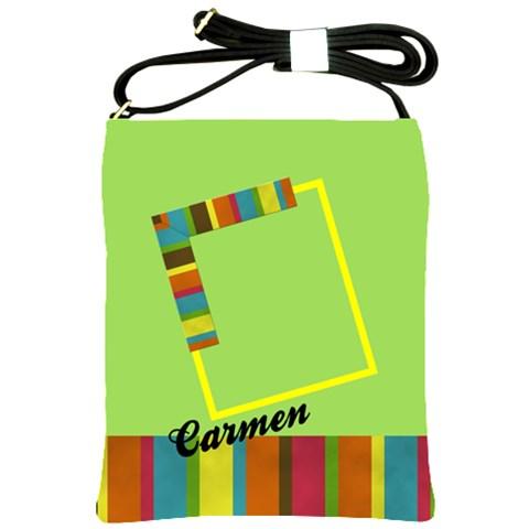 Colors   Shoulder Sling Bag By Carmensita   Shoulder Sling Bag   0ukqz3bt644p   Www Artscow Com Front