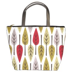 Fall Leaves By Bags n Brellas   Bucket Bag   Wczam09bhyg3   Www Artscow Com Front