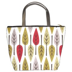 Fall Leaves By Bags n Brellas   Bucket Bag   Wczam09bhyg3   Www Artscow Com Back
