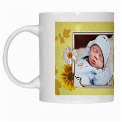 Spring Has Sprung Mug By Lil    White Mug   Vvizdqu6j589   Www Artscow Com Left