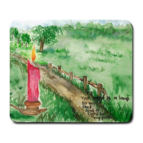 Path Mousepad By Jennifer Dickson   Large Mousepad   Q1h9lx6smax2   Www Artscow Com Front