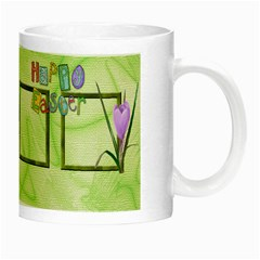 Happy Easter Luminous Mug By Elena Petrova   Night Luminous Mug   X8tk48o0tuy9   Www Artscow Com Right