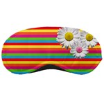 Stripes and flowers - MASK - Sleeping Mask