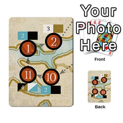 Aether Captains: Triad By Todd Sanders   Multi Purpose Cards (rectangle)   134qjtsxcrg8   Www Artscow Com Front 10