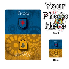 Aether Captains: Triad By Todd Sanders   Multi Purpose Cards (rectangle)   134qjtsxcrg8   Www Artscow Com Front 16