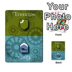 Aether Captains: Triad By Todd Sanders   Multi Purpose Cards (rectangle)   134qjtsxcrg8   Www Artscow Com Front 25
