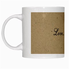 Love Coffee By Genni   White Mug   Khe1f0i8b5fq   Www Artscow Com Left