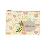 Cosmetic Bag (Large) - Flower Power