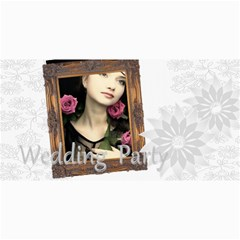 Wedding Card By Joely   4  X 8  Photo Cards   C3xn45kpwq4w   Www Artscow Com 8 x4 Photo Card - 1